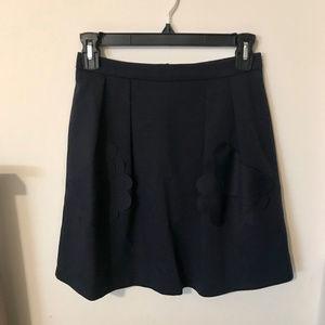 Sister Jane Scalloped Pocket Skirt